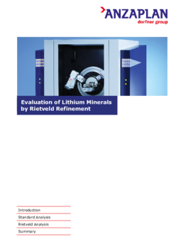 Evaluation of Lithium Minerals by Rietveld Refinement