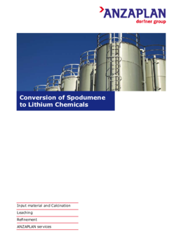 Conversion of Spodumene to Lithium Chemicals
